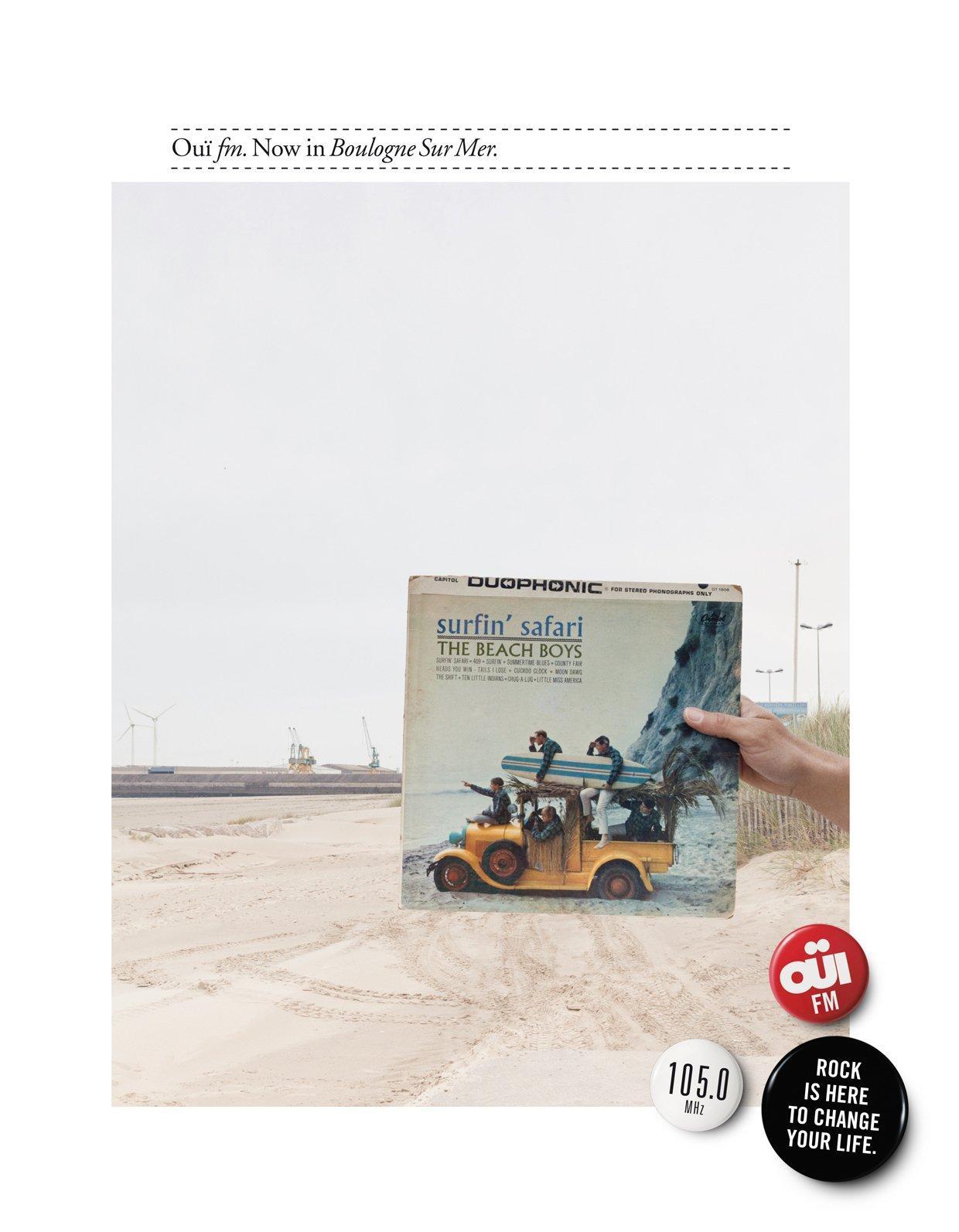 Oui FM Print Ad -  Boulogne Sur Mer