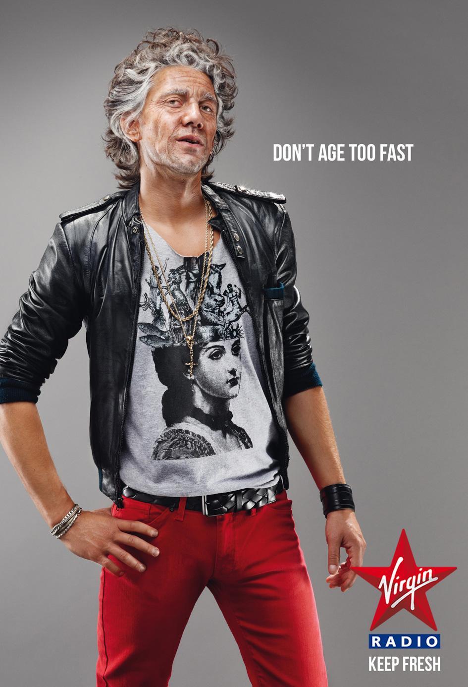 Virgin Print Ad -  Keep fresh, Rock