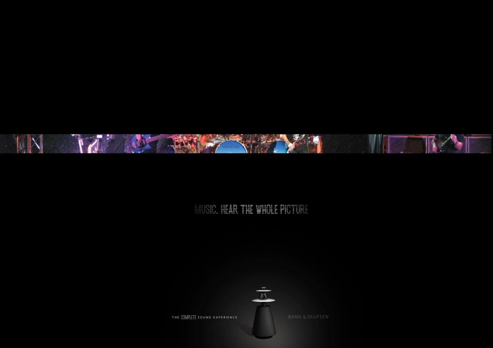 Bang & Olufsen Print Ad -  Rock
