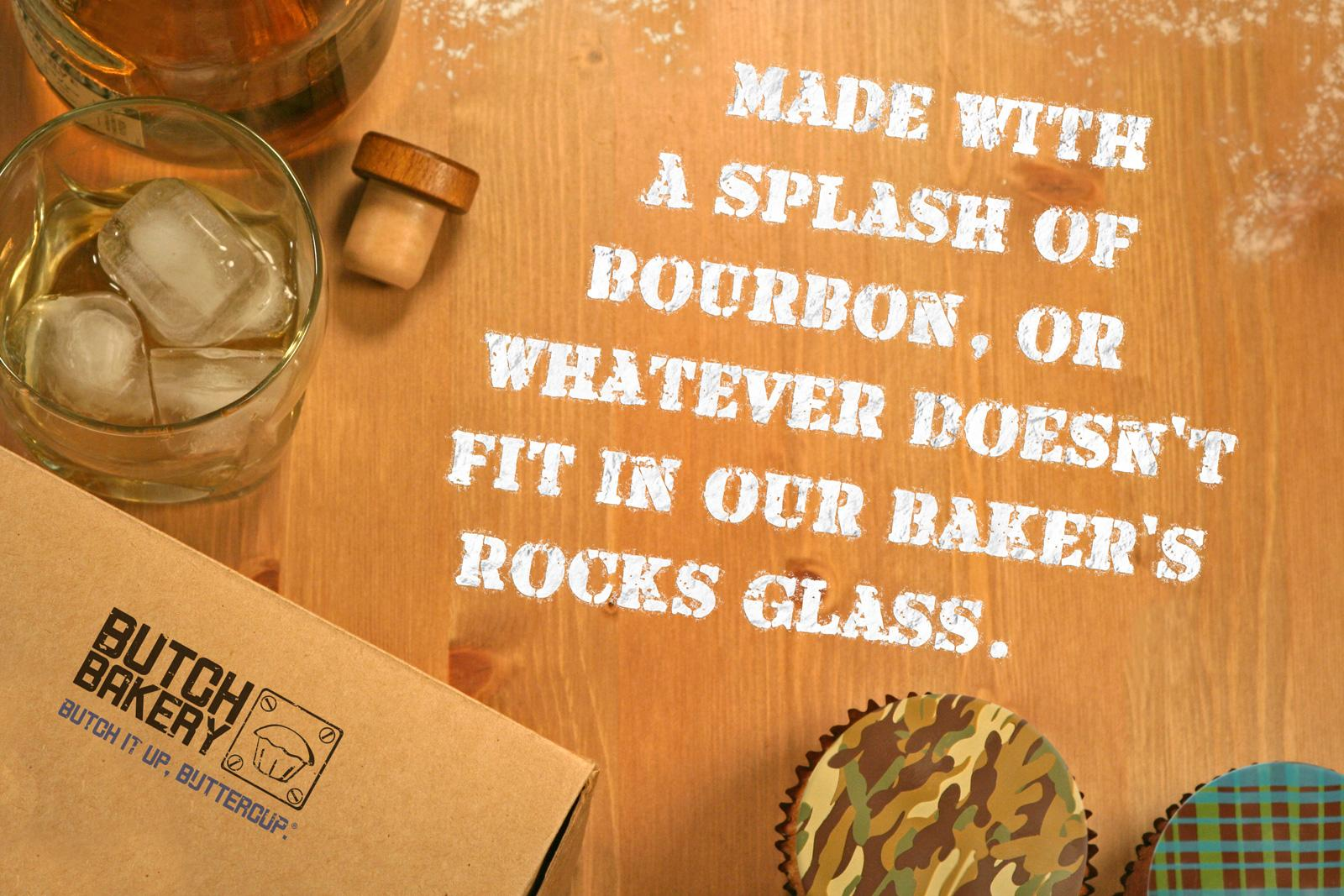 Butch Print Ad -  Rocks Glass