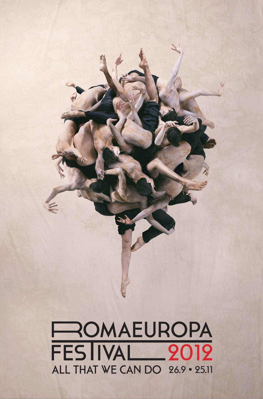 Romaeuropa Festival Outdoor Ad -  Men