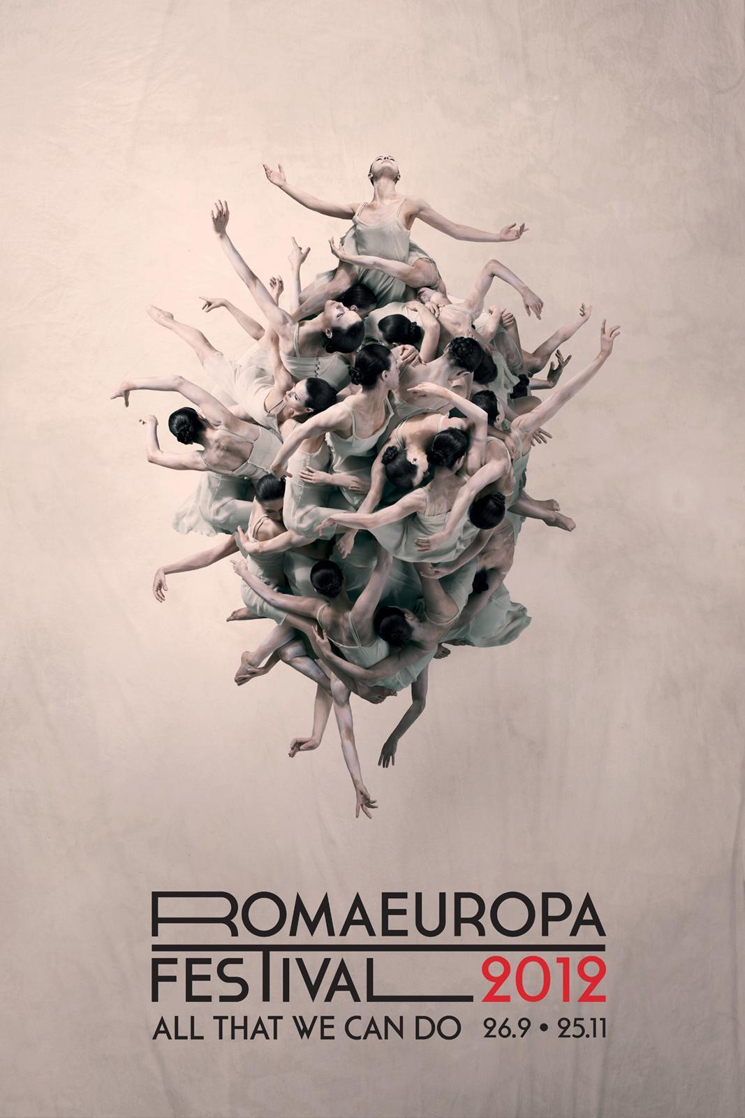 Romaeuropa Festival Outdoor Ad -  Women