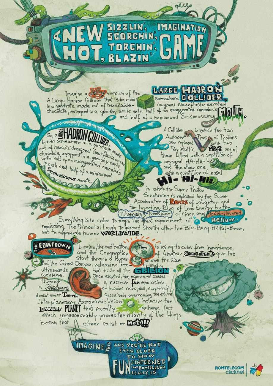 Romtelecom Print Ad -  Big Bang