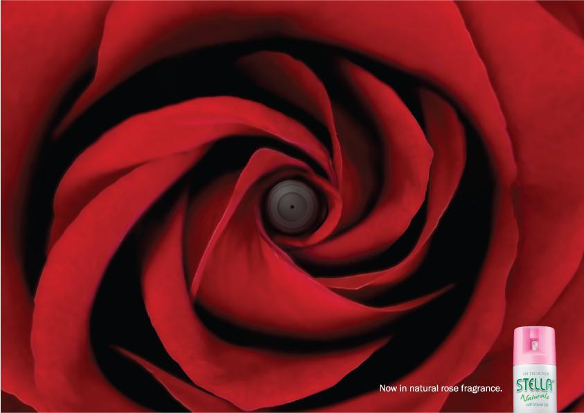 Stella Naturals Print Ad -  Rose