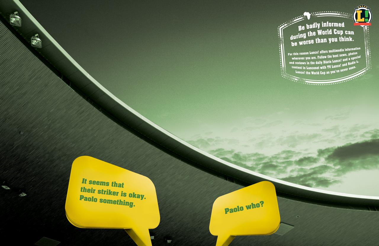 LANCE! Print Ad -  Rossi