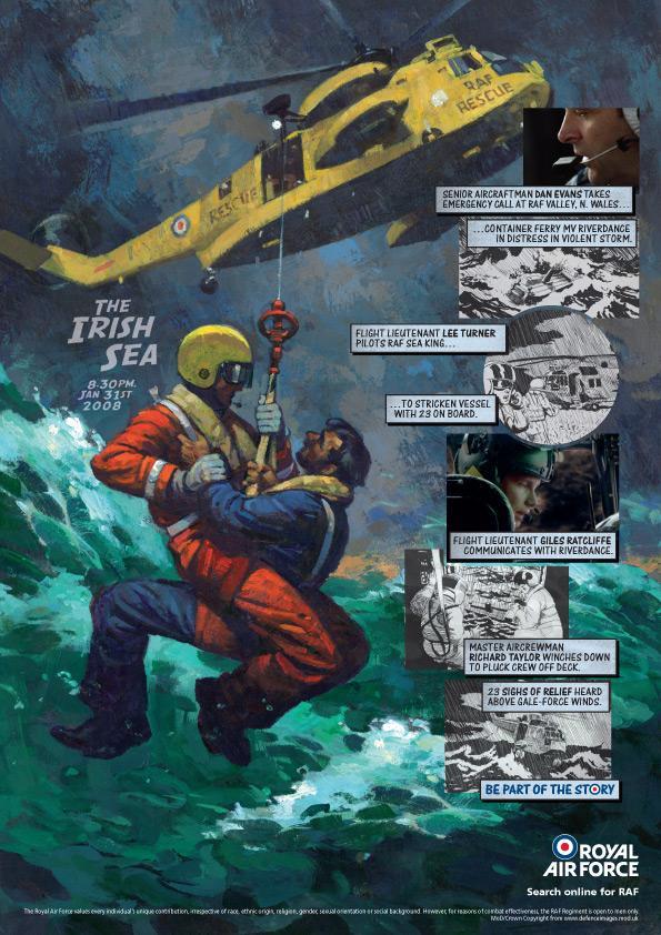 Royal Air Force Print Ad -  Sea