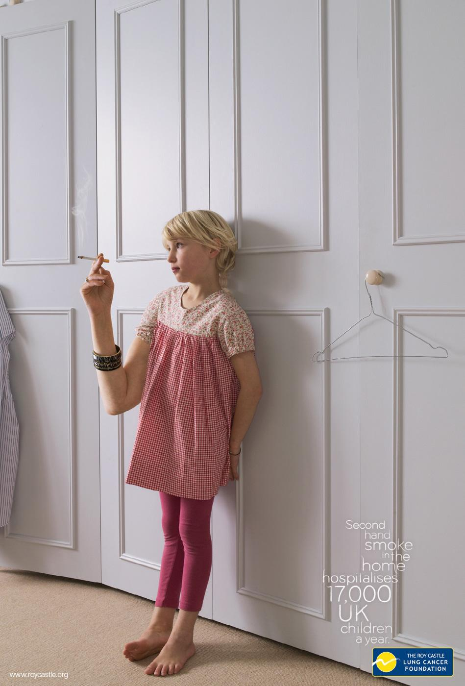 The Roy Castle Lung Cancer Foundation Print Ad -  Wardrobe