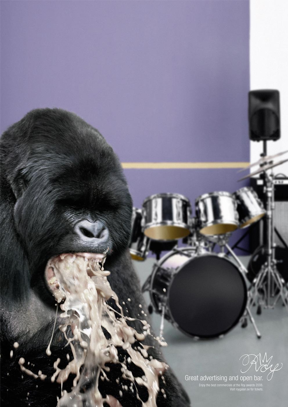 Roy Awards Print Ad -  Gorilla