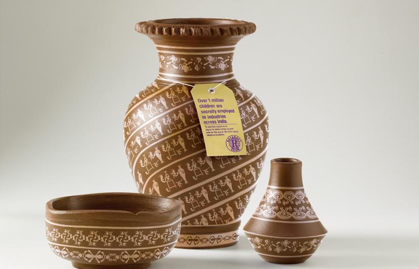Rotaract Club of Mumbai Print Ad -  Pottery