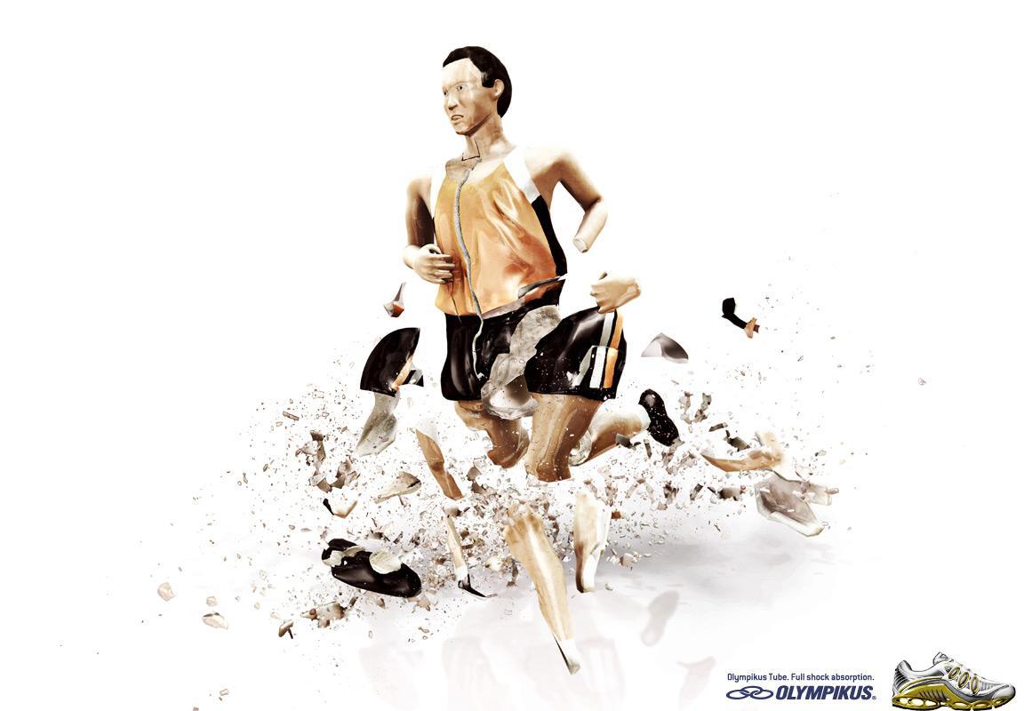 Olympikus Print Ad -  Runner 2
