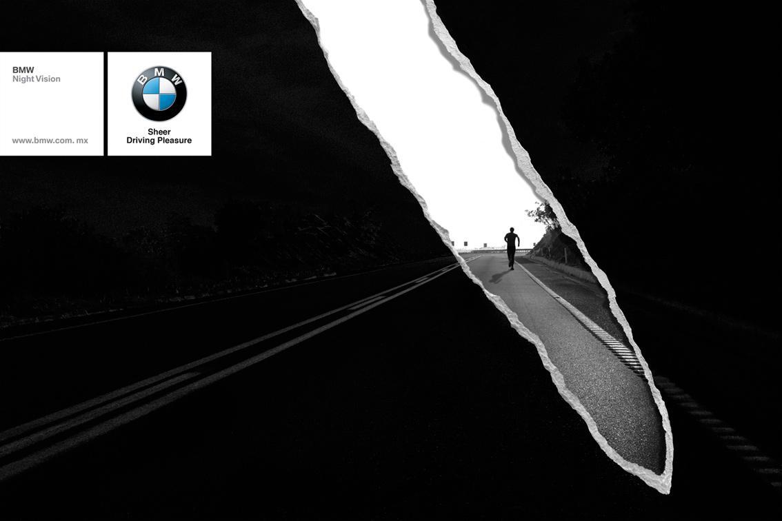 BMW Print Ad -  Runner