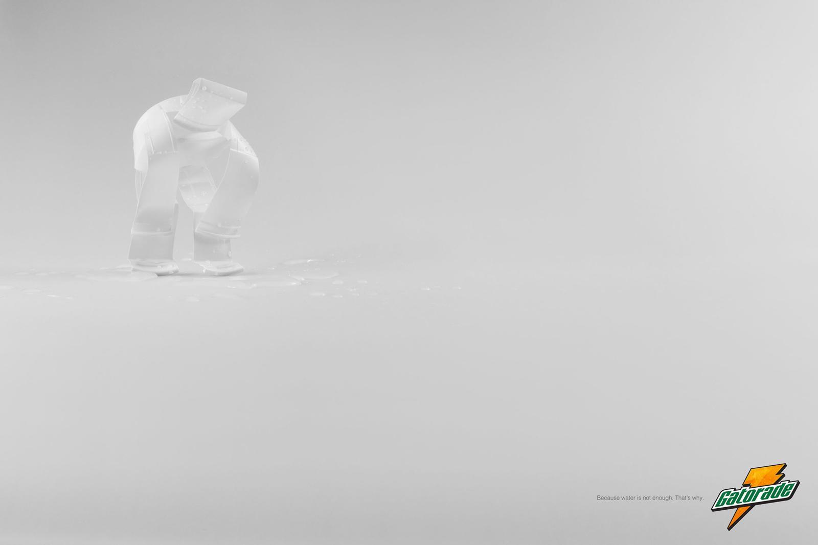 Gatorade Print Ad -  Running
