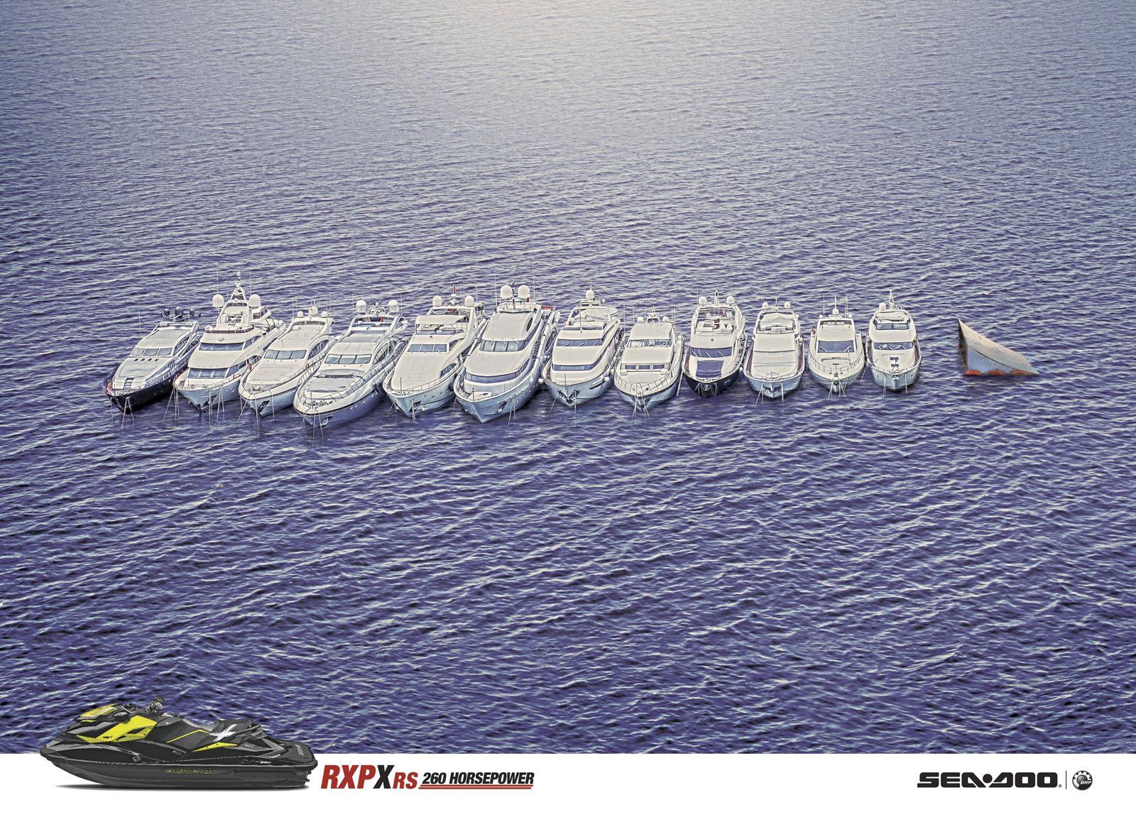 Sea-Doo Print Ad -  Boats