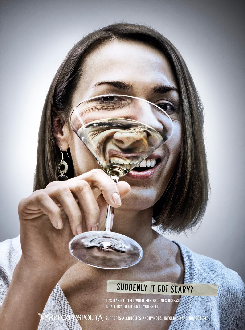 Rzeczpospolita Print Ad -  Woman