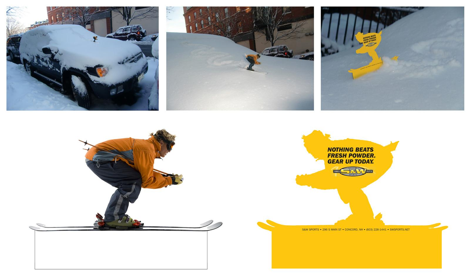 S&W Sports Ambient Ad -  Skier