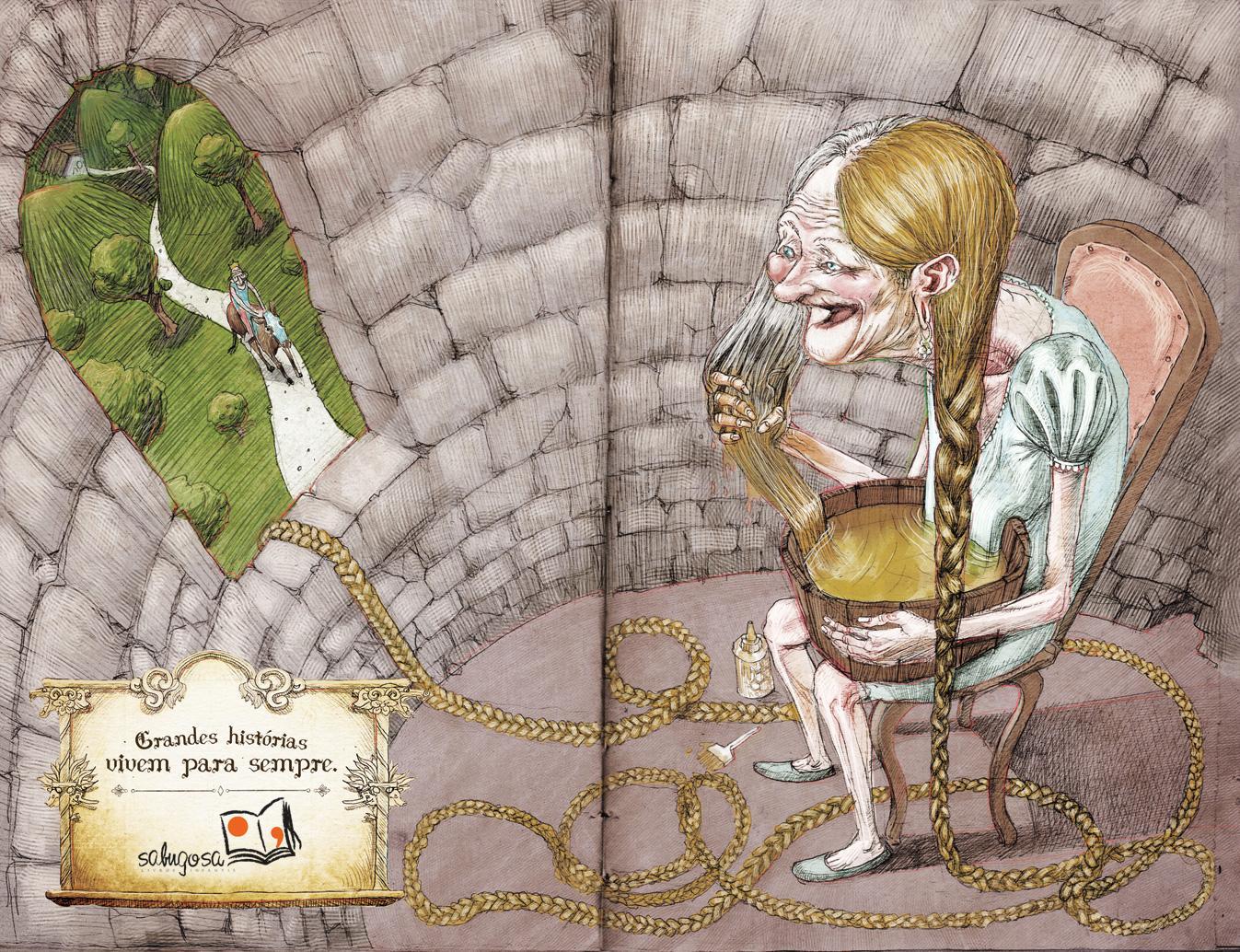 Sabugosa Print Ad -  Rapunzel