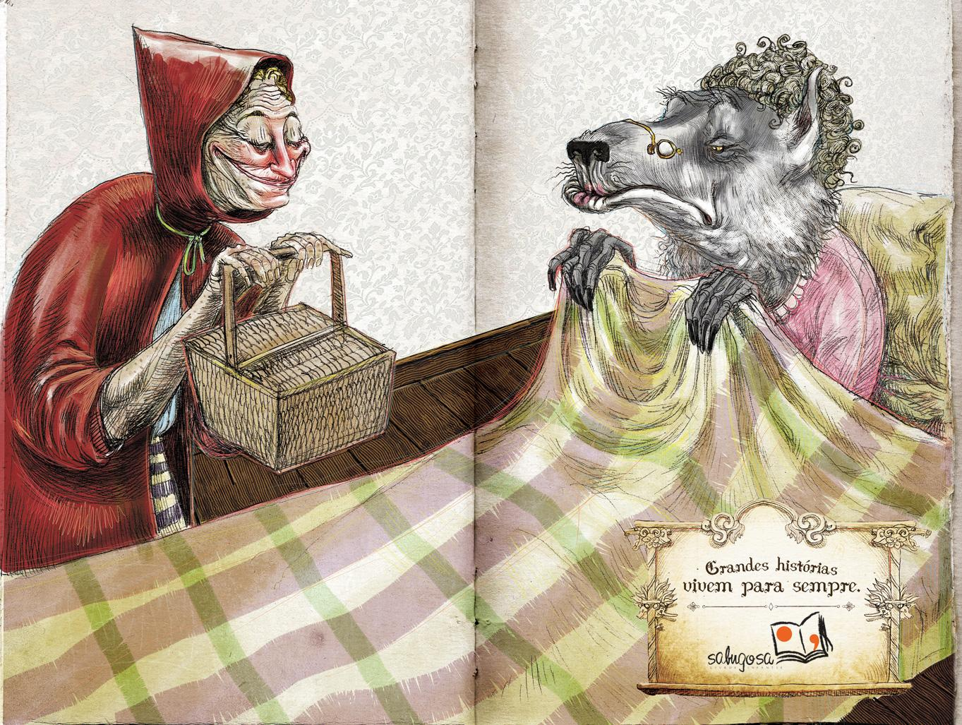 Sabugosa Print Ad -  Little Red Riding Hood