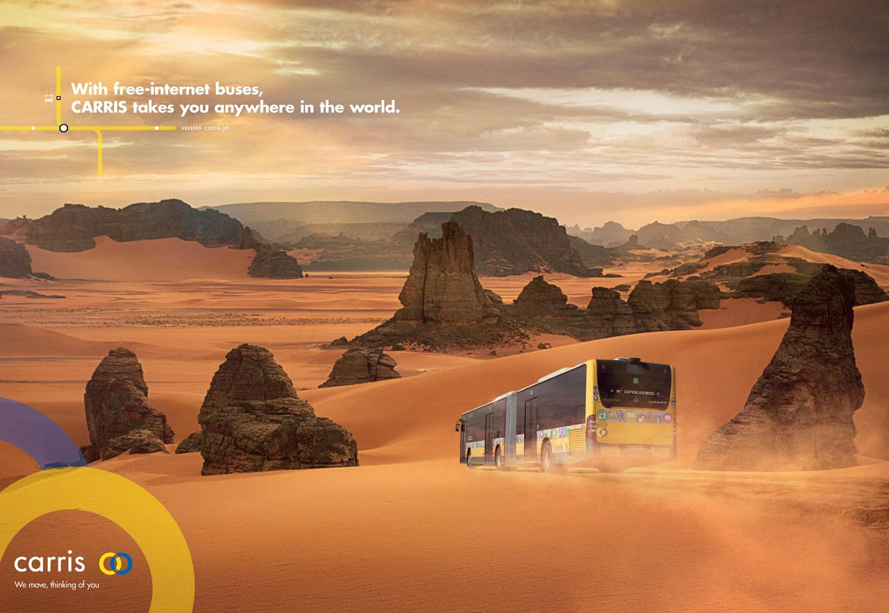 Carris Print Ad -  Sahara desert