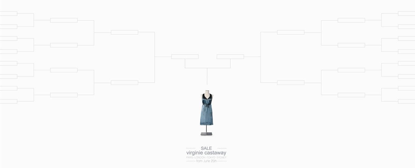 Virginie Castaway Print Ad -  Dress
