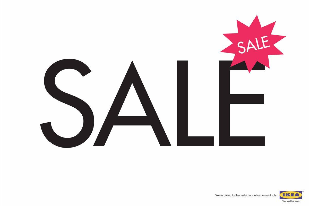 Sale on sale