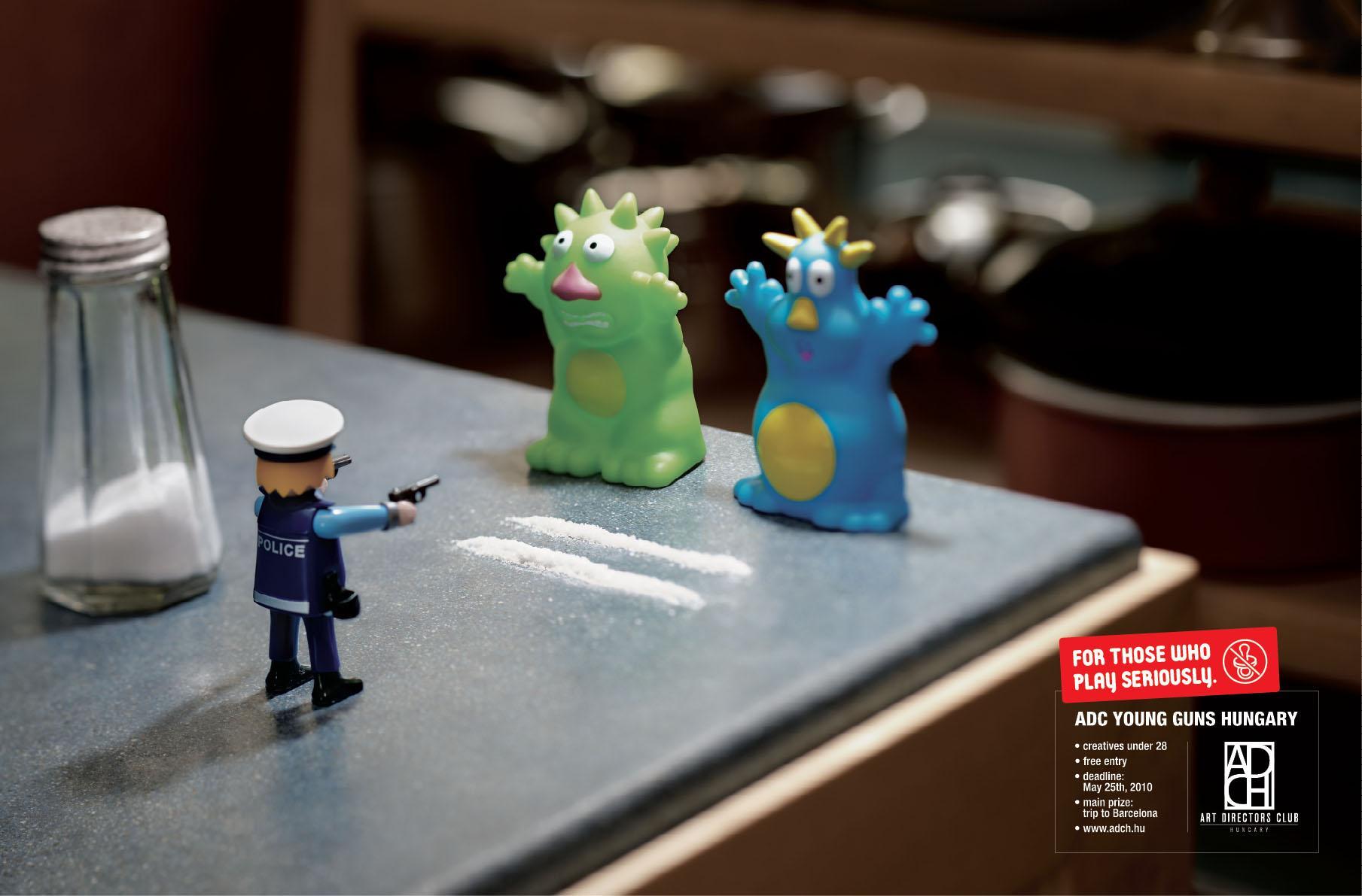 Art Directors Club Print Ad -  Salt