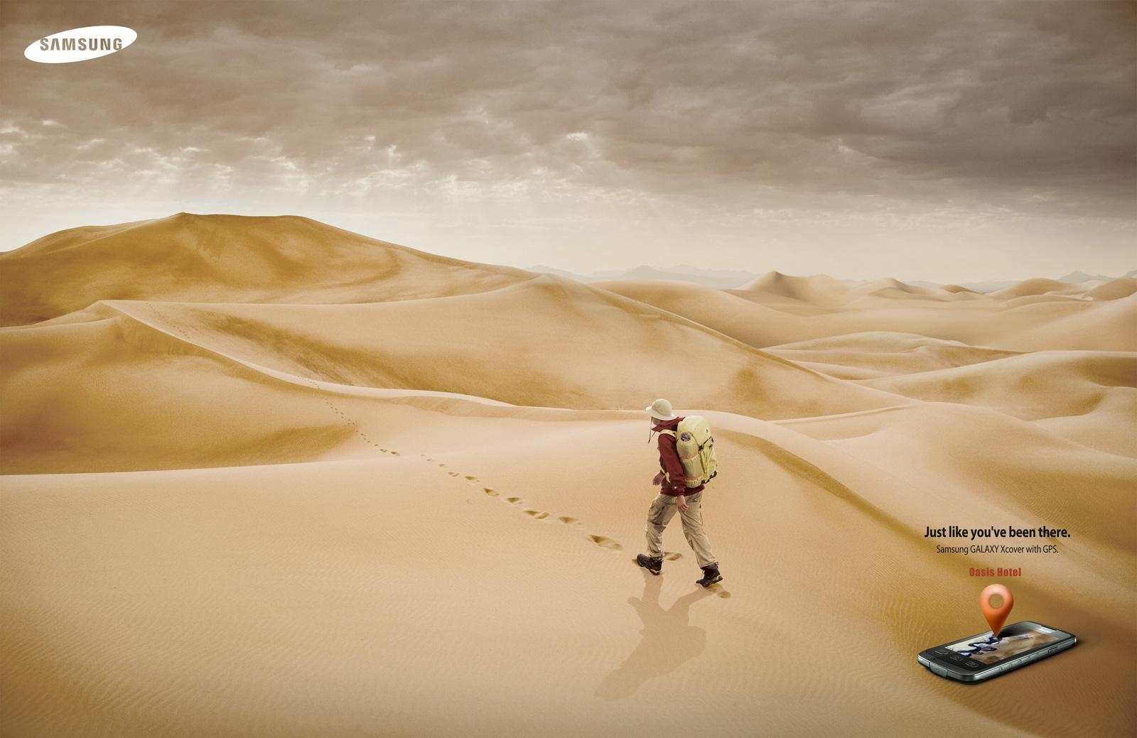 Samsung Print Ad -  Desert
