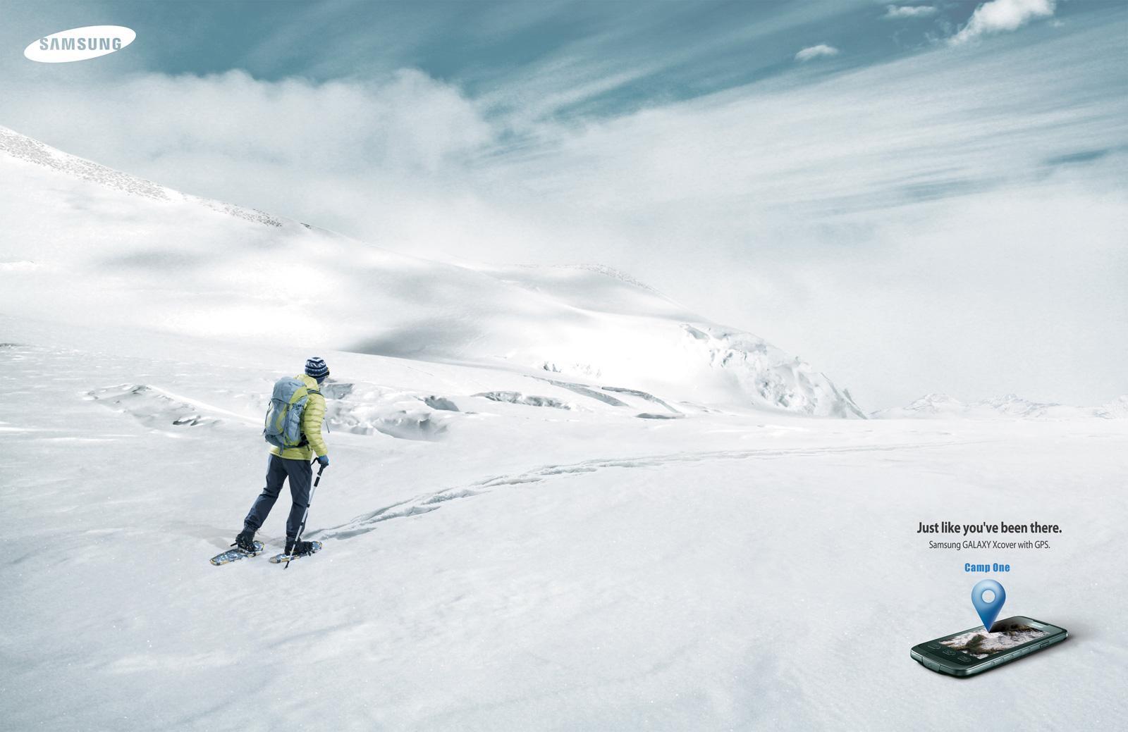 Samsung Print Ad -  Snowfield