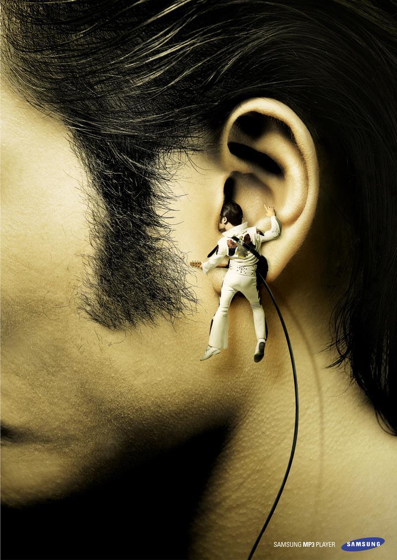 Samsung Print Ad -  Elvis