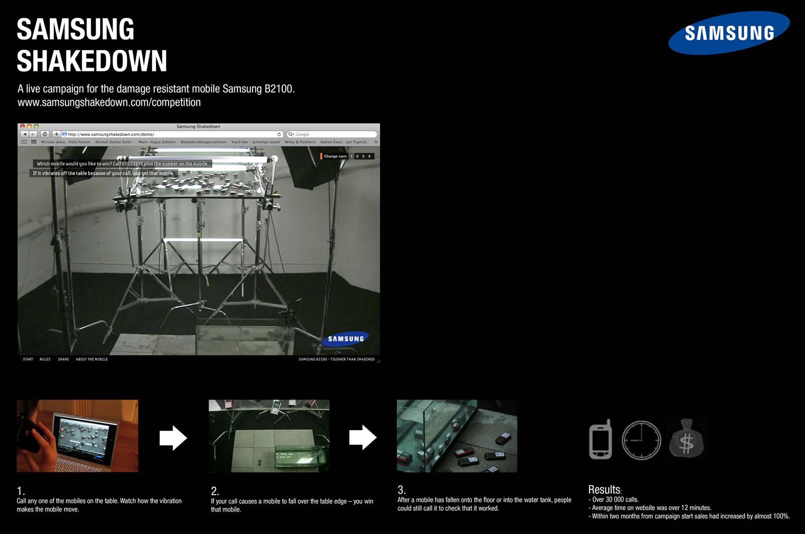 Samsung Digital Ad -  Shakedown
