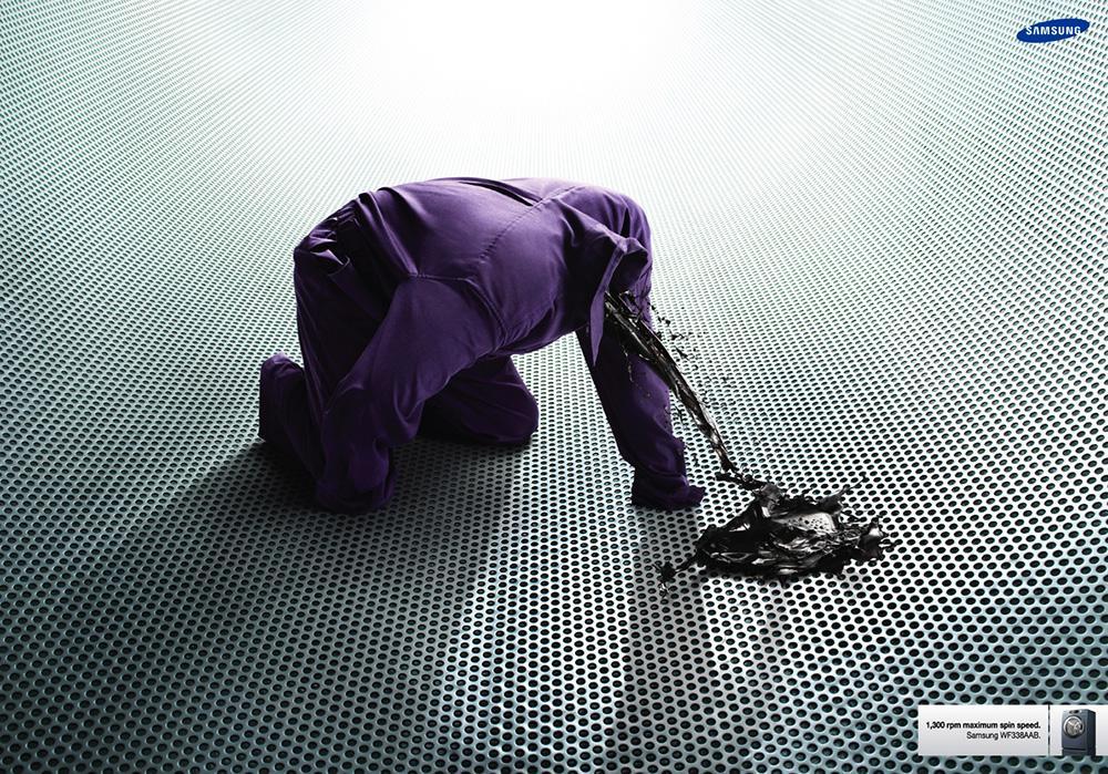 Samsung Print Ad -  Oil