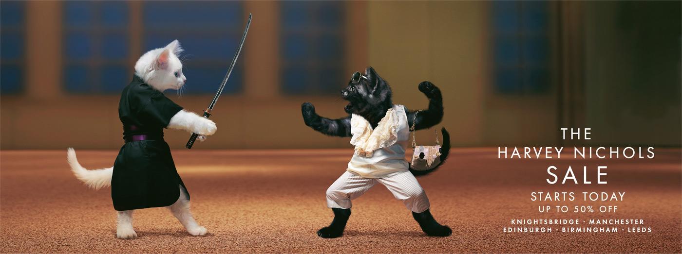 Samurai catfight