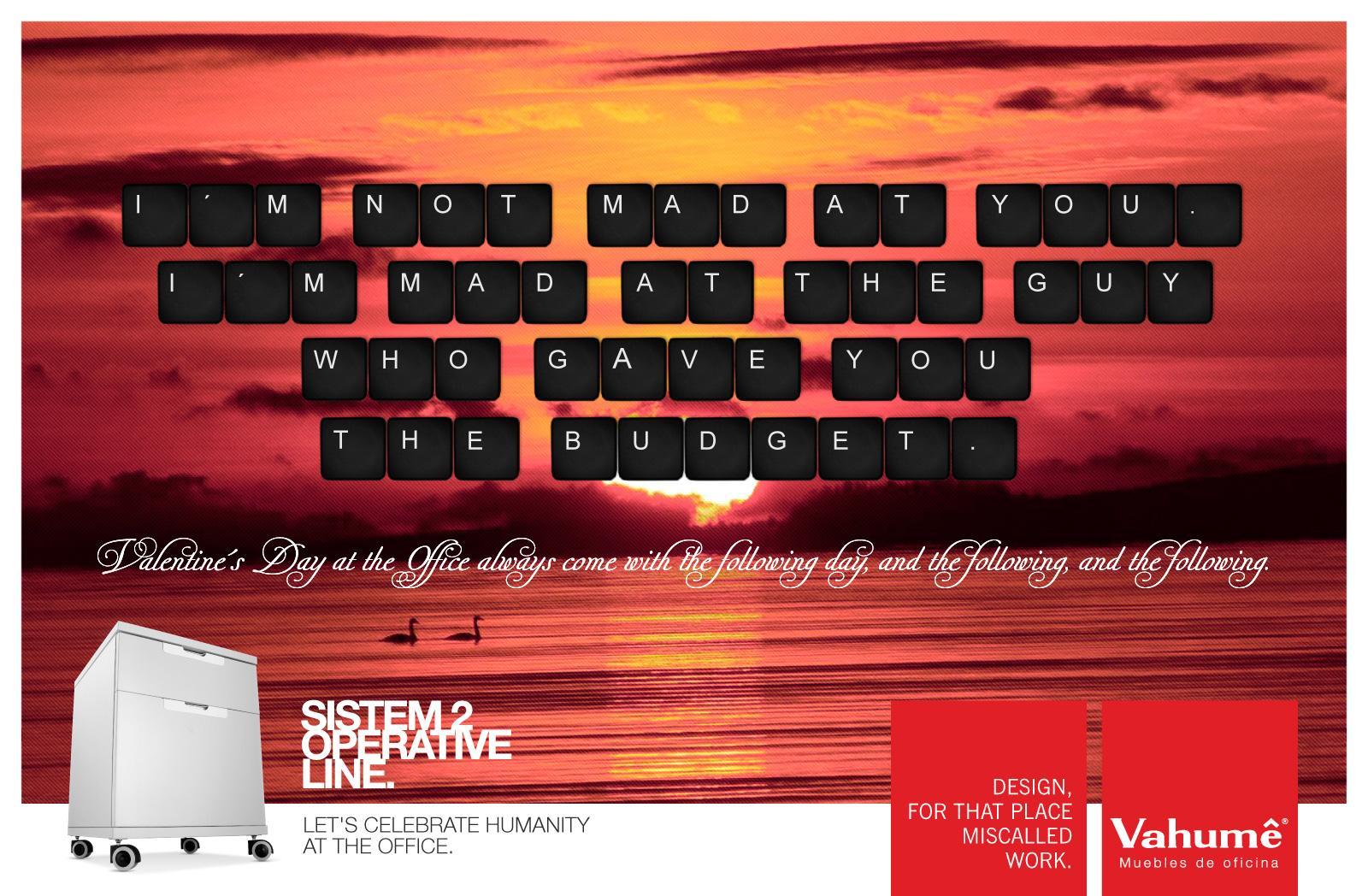 Vahume Print Advert By Communion Valentine S Day 3 Ads Of The  # Muebles Einstein