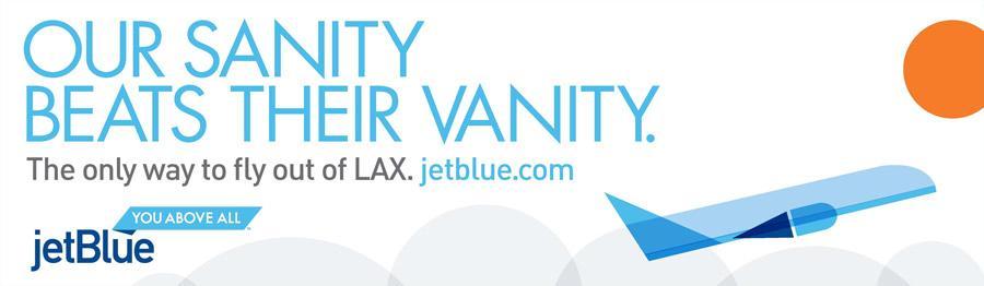 JetBlue Print Ad -  Sanity