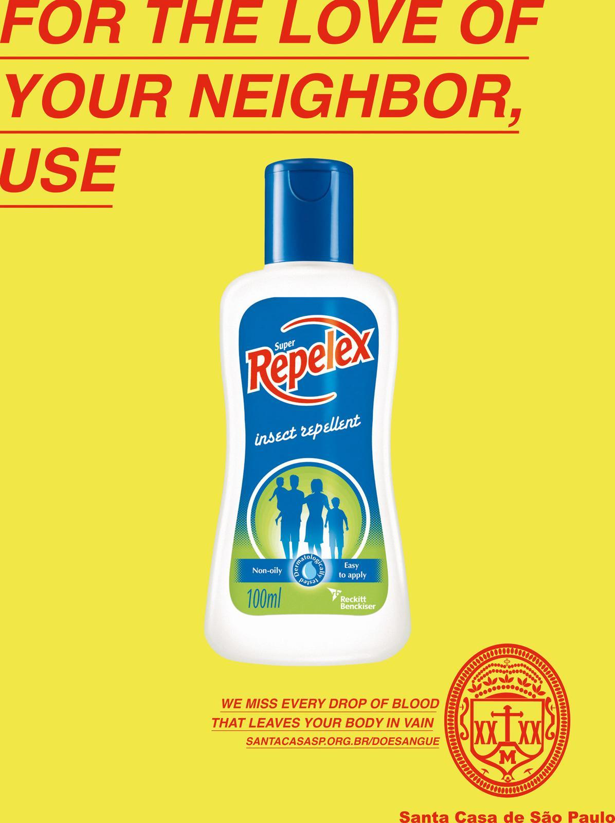 Santa Casa Print Ad -  Insect Repellent