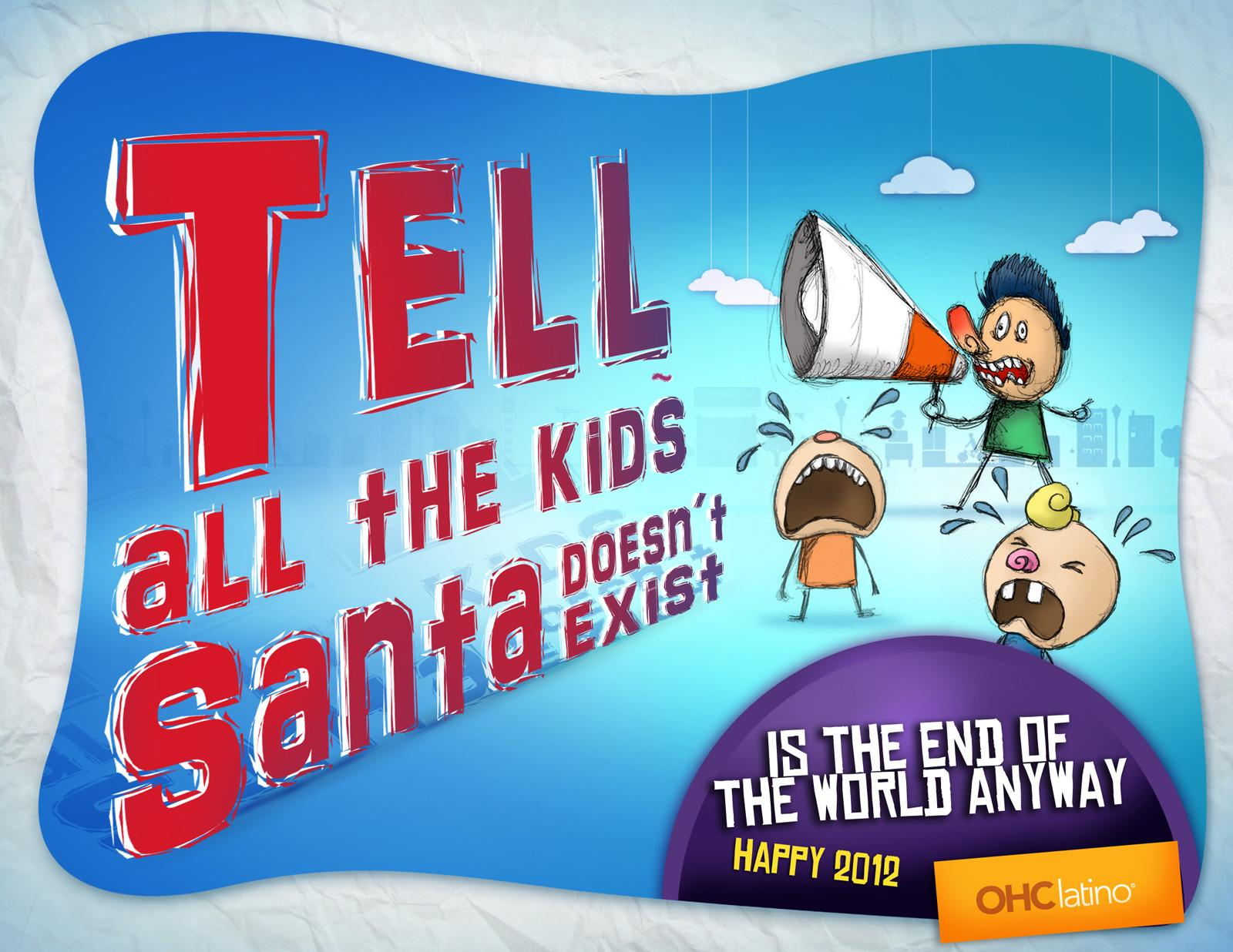 OHC latino Print Ad -  Santa
