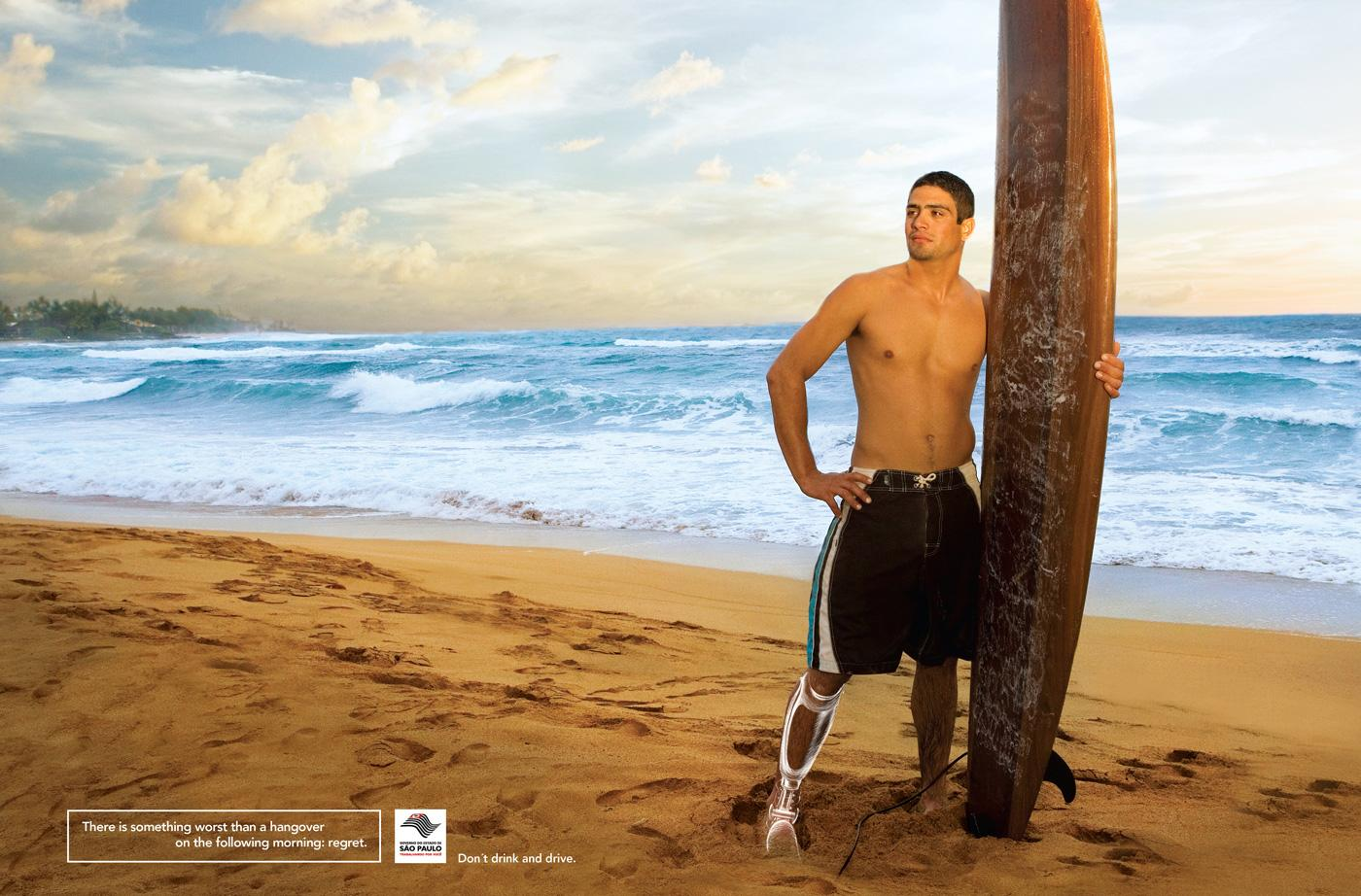 Sao Paulo State Government Print Ad -  Surfer