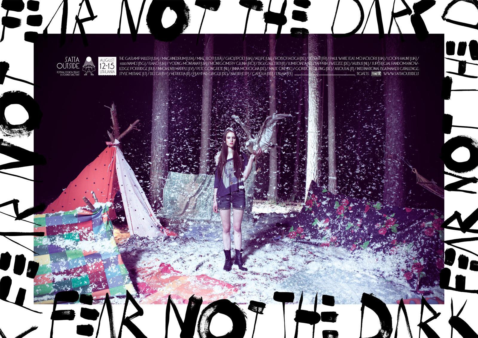 Satta Outside Festival Print Ad -  Fear Not The Dark, 3