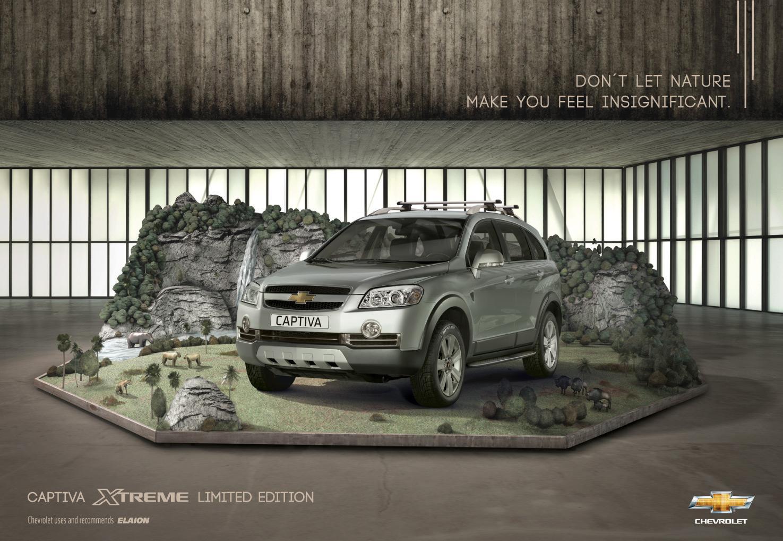 Chevrolet Print Ad -  Savanna
