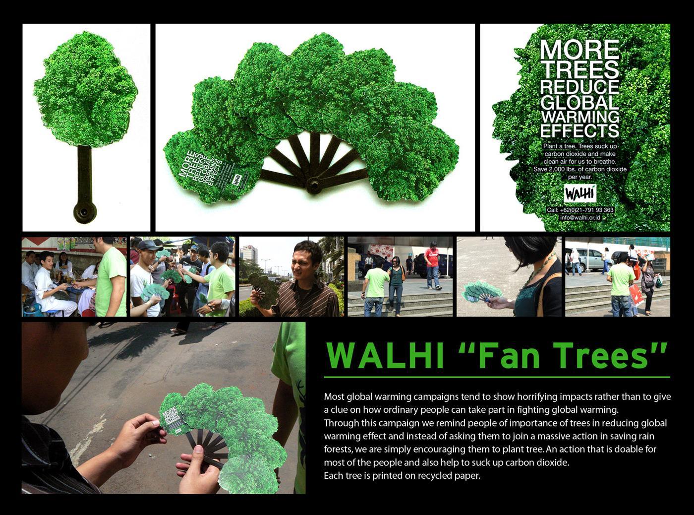 Fan trees