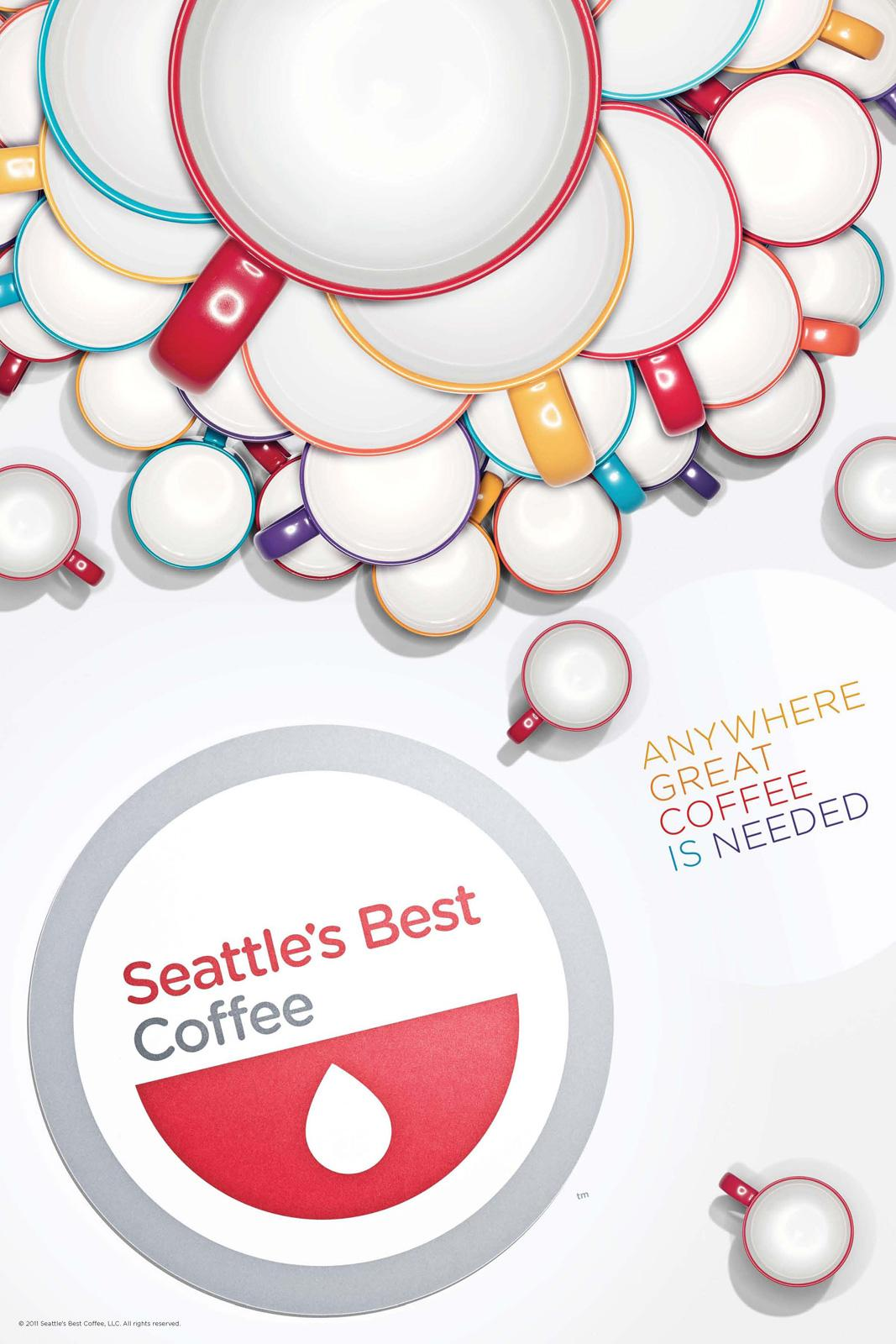 Seattle's Best Coffee Outdoor Ad -  Anywhere great coffee is needed