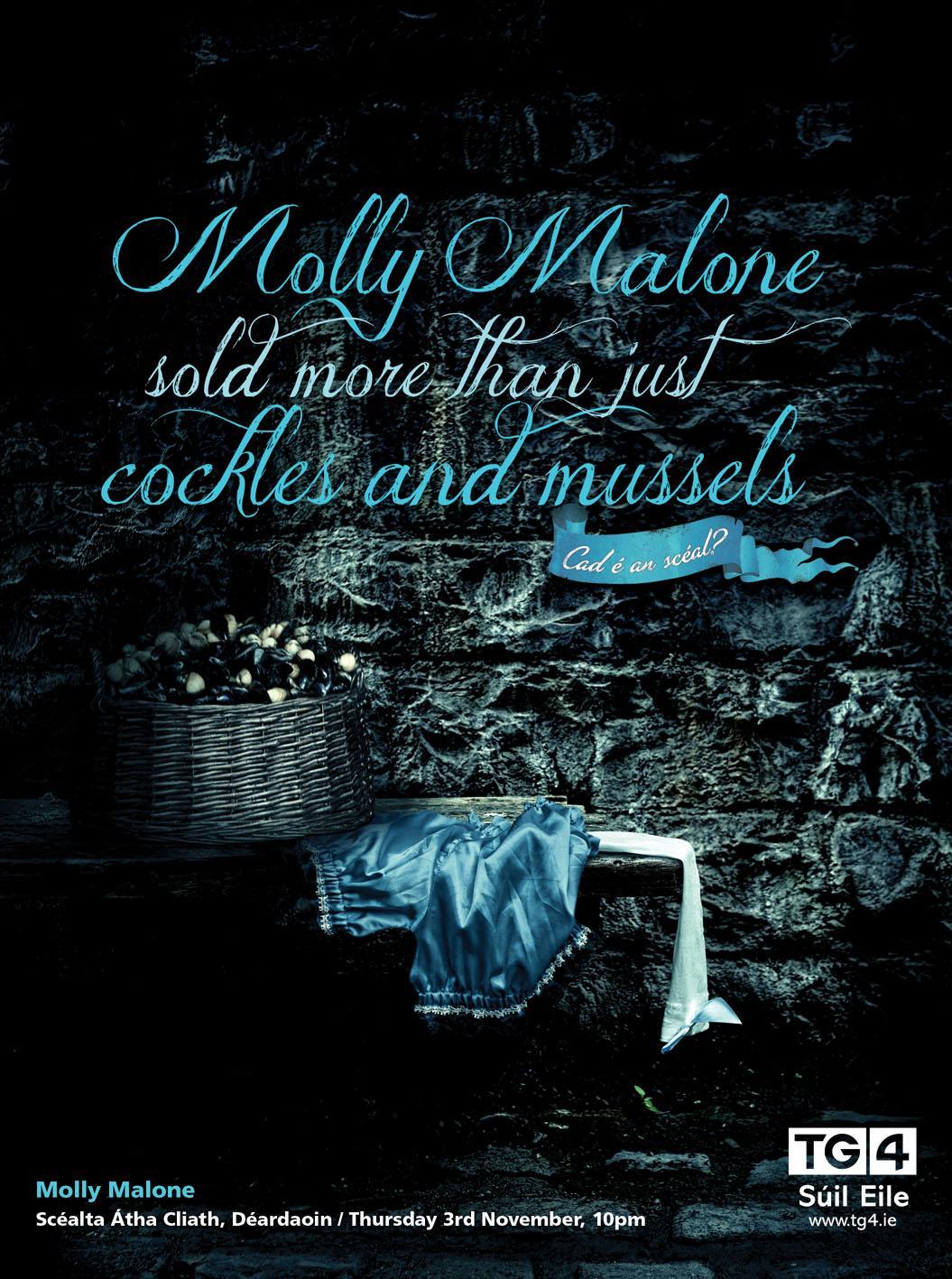 TG4 Print Ad -  Molly Malone