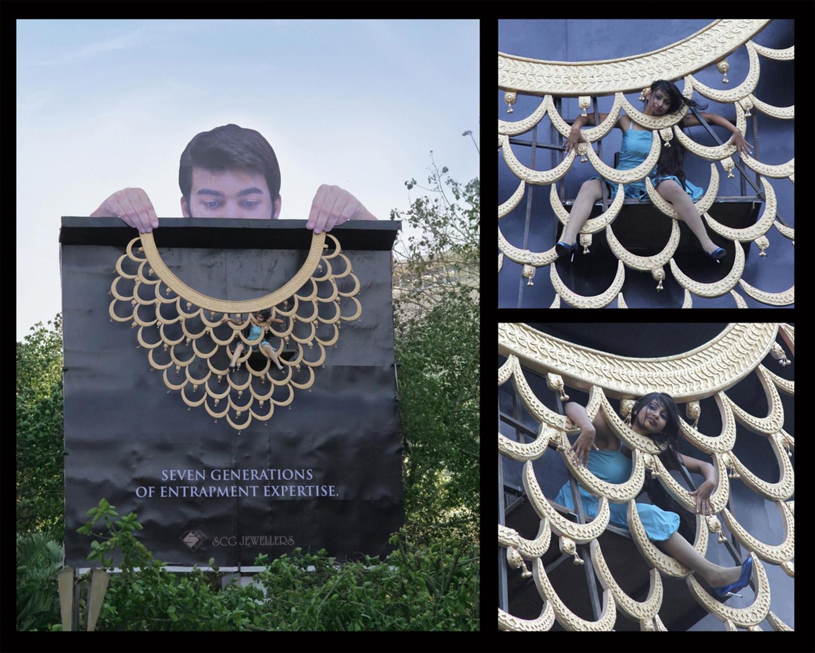 Scg Jewellers Outdoor Ad -  Entrapment