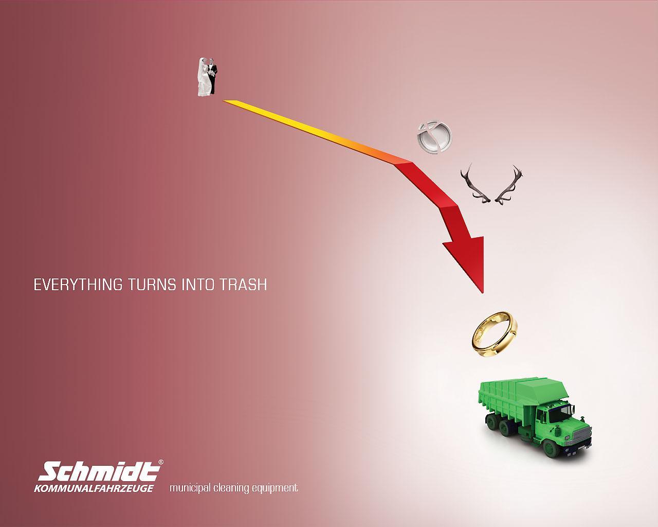 Schmidt Kommunalfahrzeuge Print Ad -  Divorce
