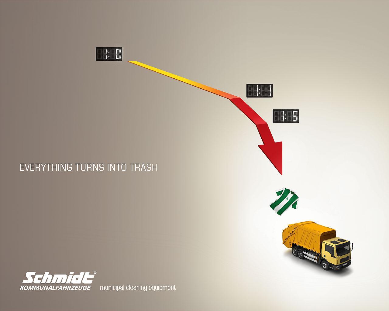 Schmidt Kommunalfahrzeuge Print Ad -  Football