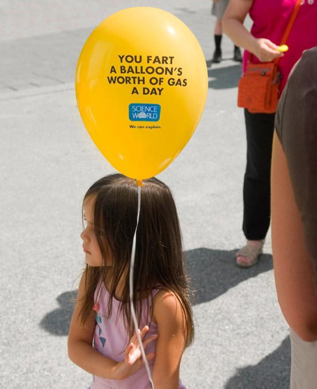 Science World Direct Ad -  Balloon