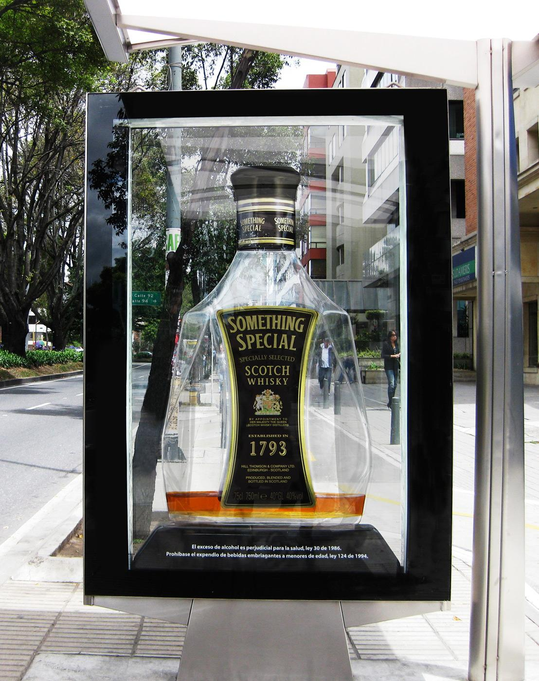 Something Specia Outdoor Ad -  Empty bottle
