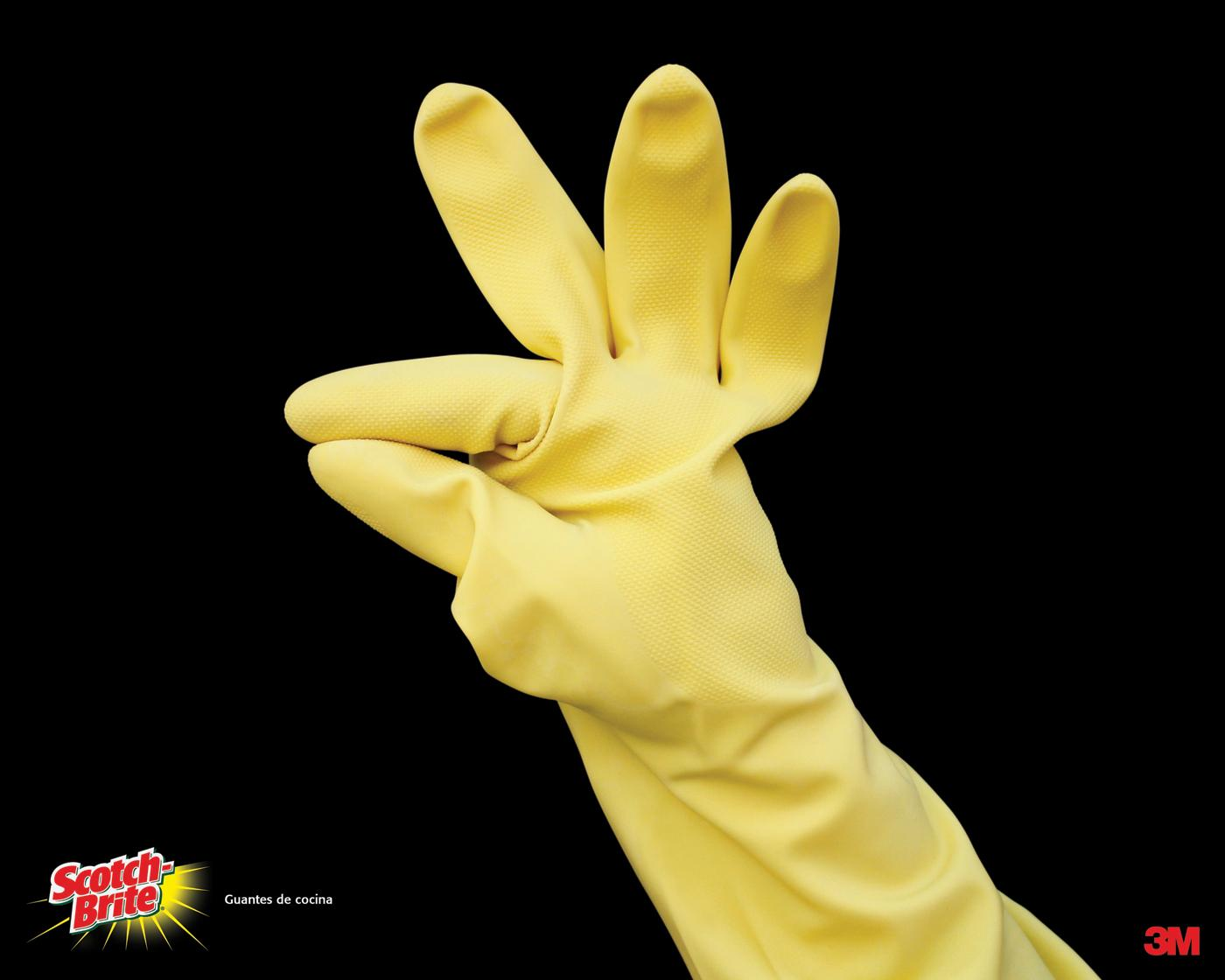 Scotch-Brite Print Ad -  Kitchen gloves, 1