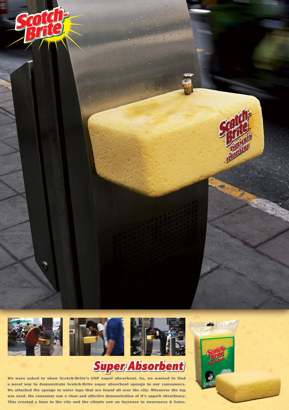 Scotch-Brite Ambient Ad -  Super absorbent