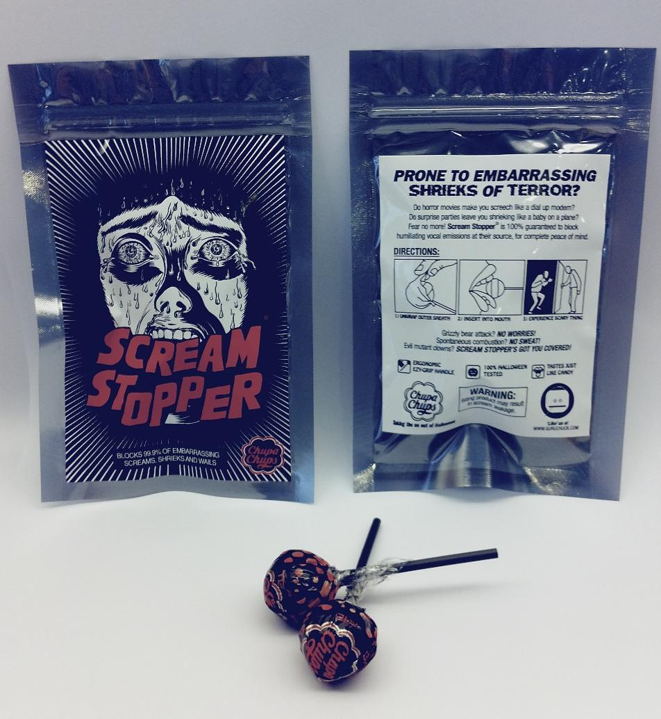 Chupa Chups Direct Ad -  Halloween Scream Stopper