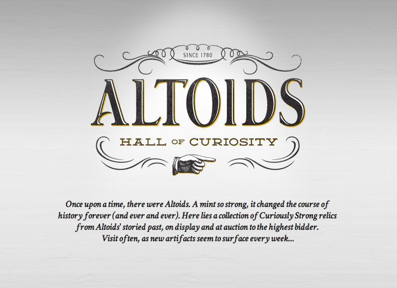 Altoids Digital Ad -  Hall of Curiosity